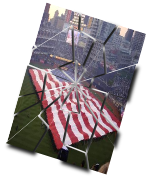 inkscape作成例、ひび割れた写真