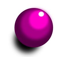 立体的な球体